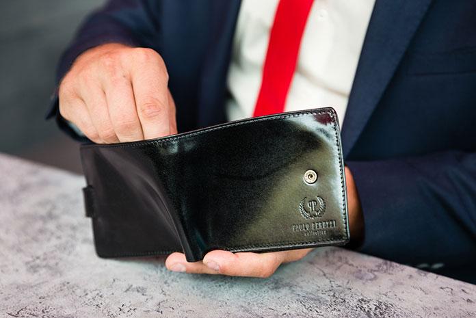 Mały portfel męski