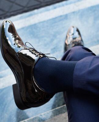 Męskie buty podwyższające do ślubu